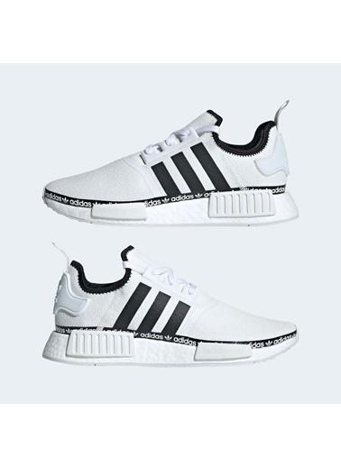 adidas Erkek Nmd_R1 Sneakers FV8727 Beyaz